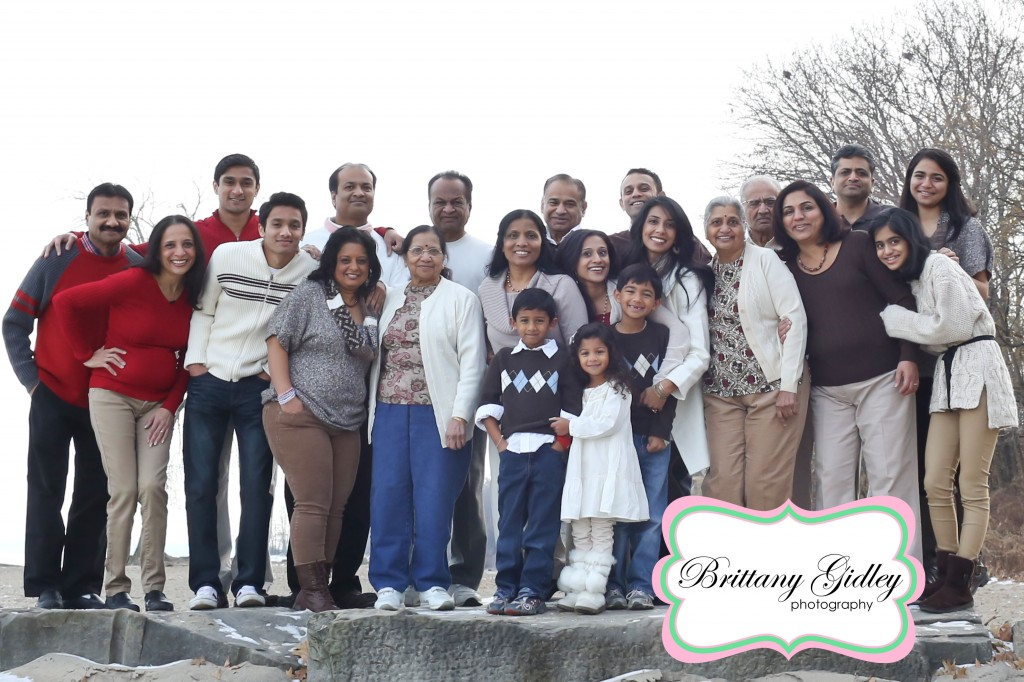 Extended Family Photographer | The Patel Family